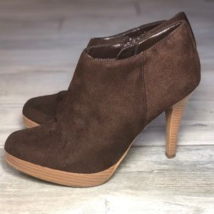 Chocolate Brown ankle booties